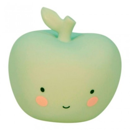 Mini lampara manzana mint